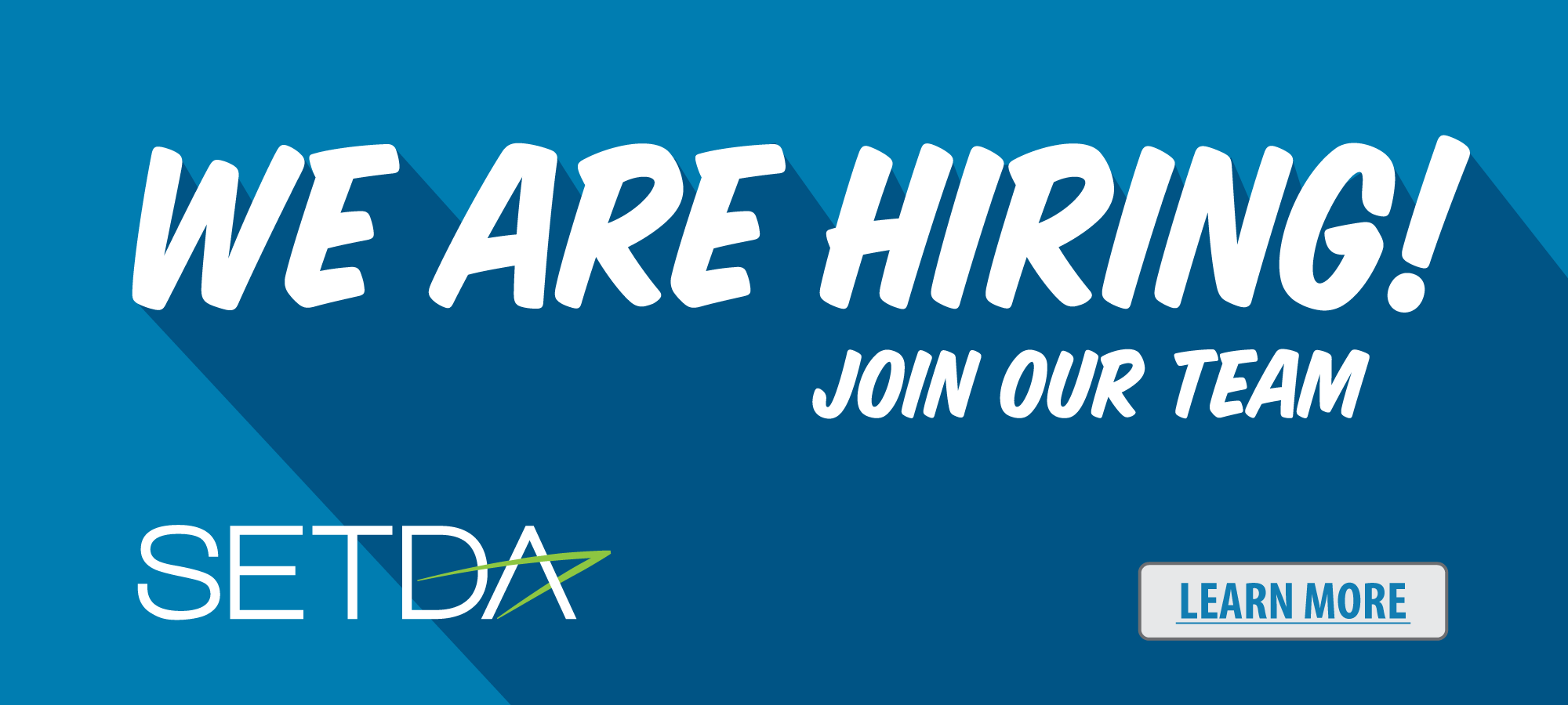 We Are Hiring - SETDA - Learn More